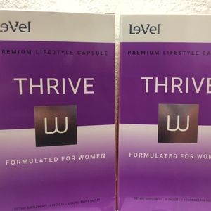 thrive le veo women cápsules two boxes